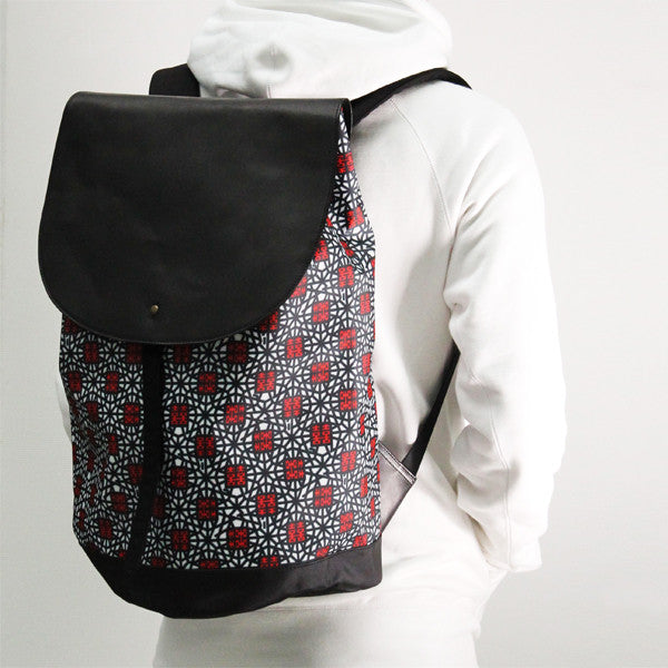'Double Happiness' large backpack