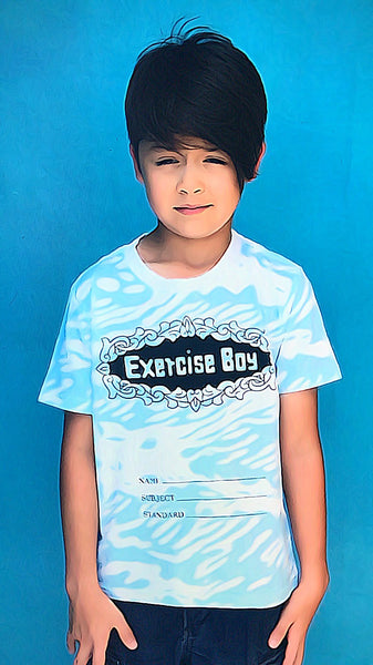 'Exercise Boy' Kids T-shirt