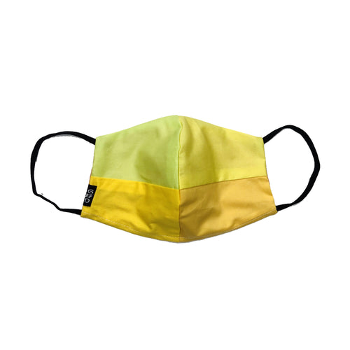 Yellow Combo Snouted Mask with Holder