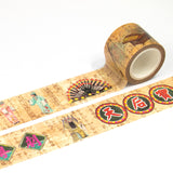 ZiGaauDaai decorative masking tape (Chinese opera)