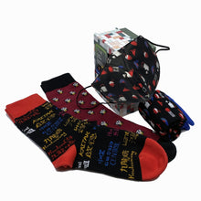 Load image into Gallery viewer, Playful Socks x G.O.D. Socks+Mask Gift Set, HK favourite things