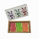 'Angry Cat' Soap, Set of 3