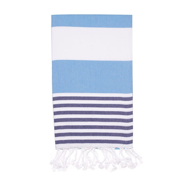 Candy Turkish Towel, Ocean Blue