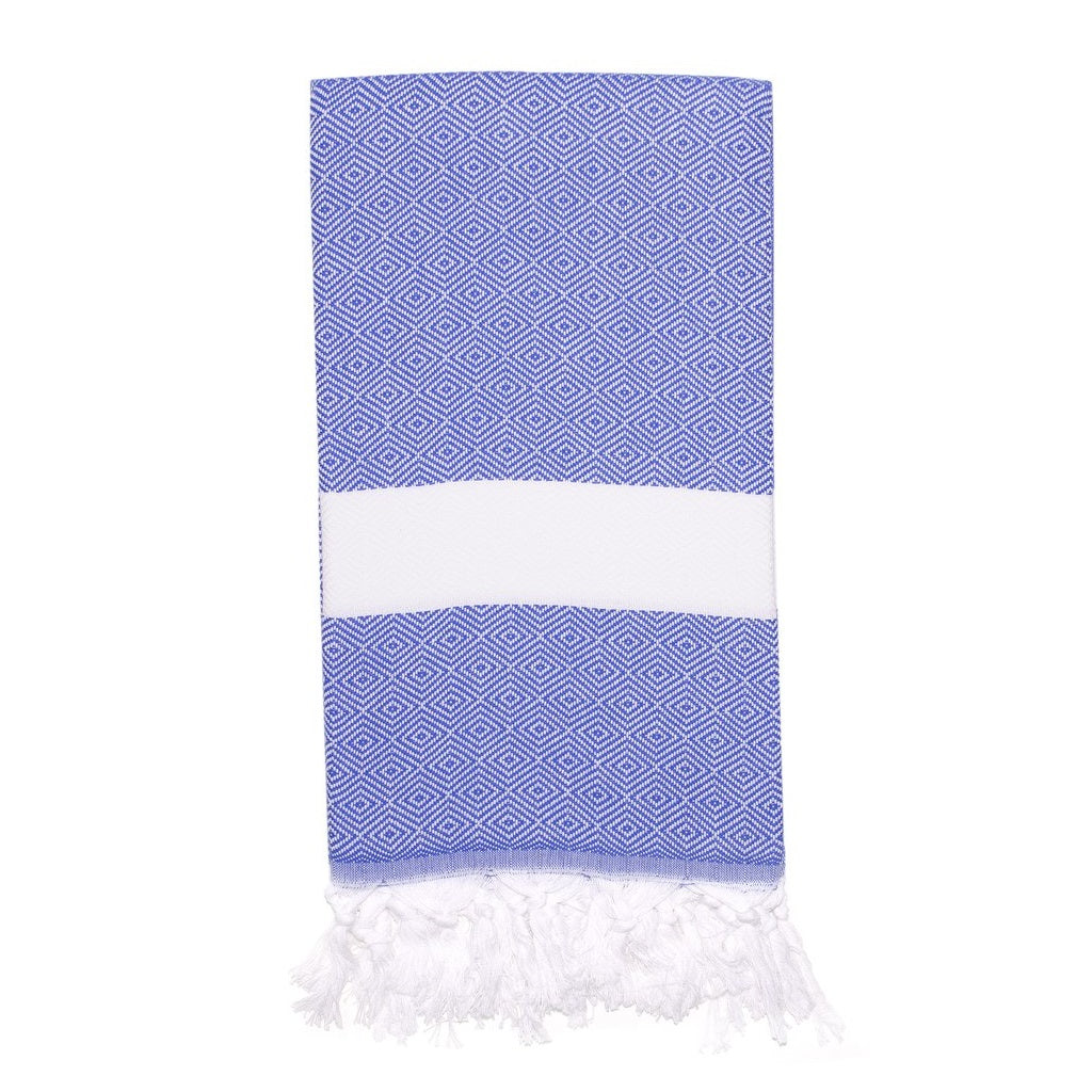 Sultan Turkish Towel, Ocean Deep