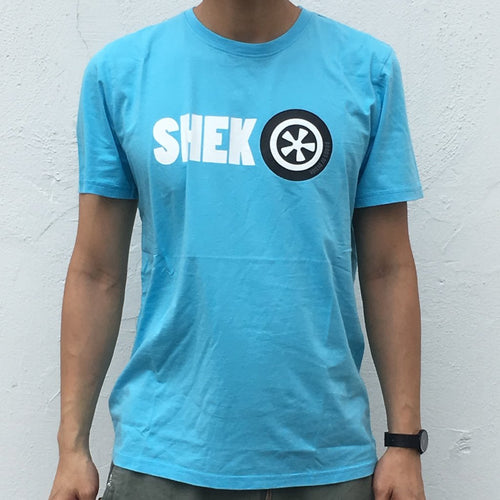 'Shek O' T-shirt, Light Blue