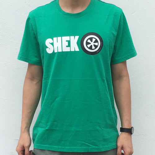 'Shek O' T-shirt, Green