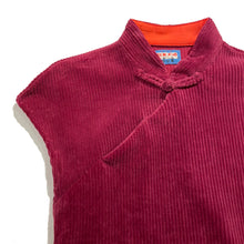 Load image into Gallery viewer, Corduroy Qipao Dress, Burgundy