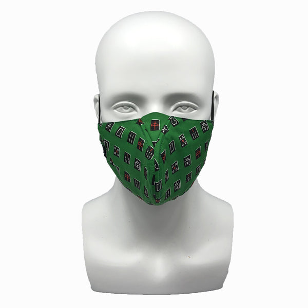WHY-Y Mask, Green Mahjong