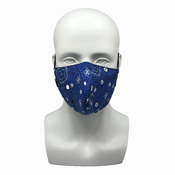 WHY-Y Mask, Bandana Blue