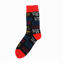 Load image into Gallery viewer, Playful Socks x G.O.D. District Names