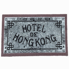 Load image into Gallery viewer, 'Hotel de Hong Kong' Door Mat