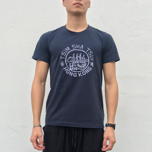 '1876 Hong Kong Badge TST' T-shirt