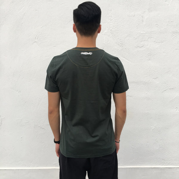 'Hongkonger (Flag)' t-shirt (green)