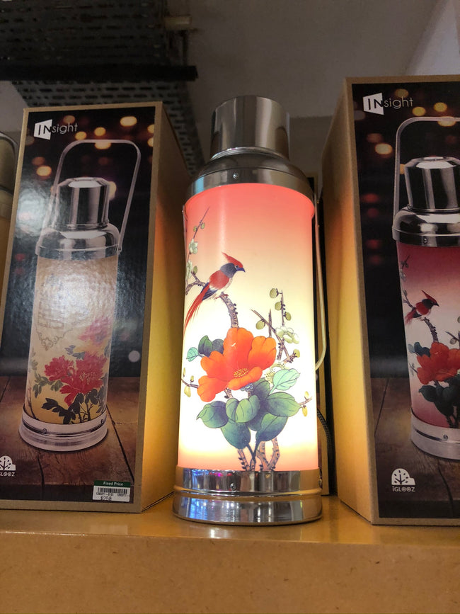 Vacuum Flask Lamp, Sunset Kaki