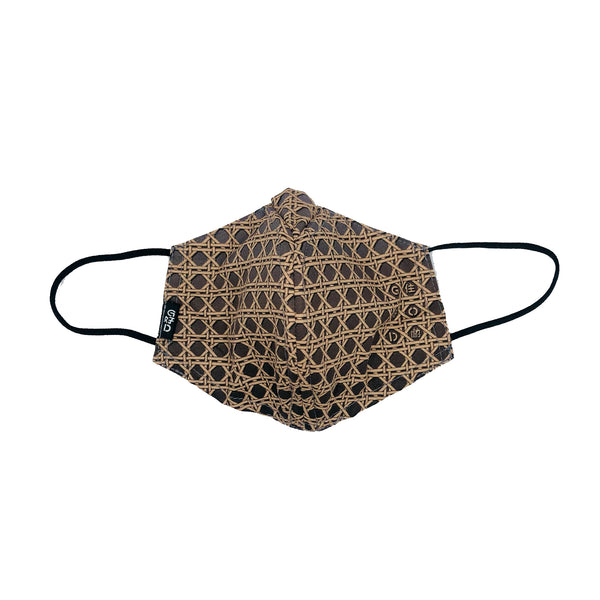 WHY-Y Mask, Brown Rattan
