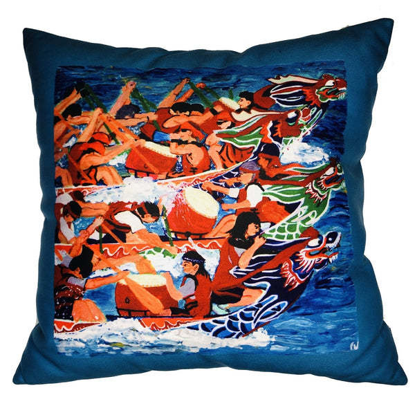 diFV-art Dragon Boat Cushion Cover (45 x 45 cm)