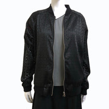 Load image into Gallery viewer, Double Coins Bomber Jacket, Black