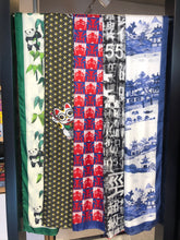 Load image into Gallery viewer, 'Opera Faces' Silk Scarf, Small