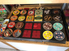 Load image into Gallery viewer, 'Vintage Hotels' coaster set