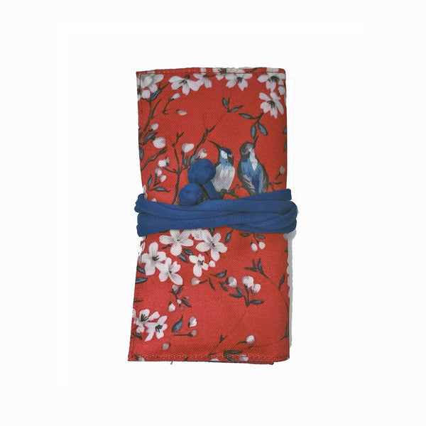 Red Bird Jewellery Travel Roll