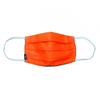 'Neon Orange' Cloth Mask with Holder