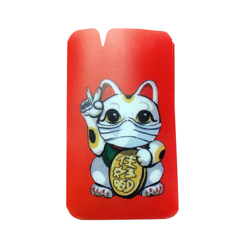 Lucky Cat Mask Holder