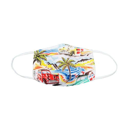 Tropical Mask with Holder