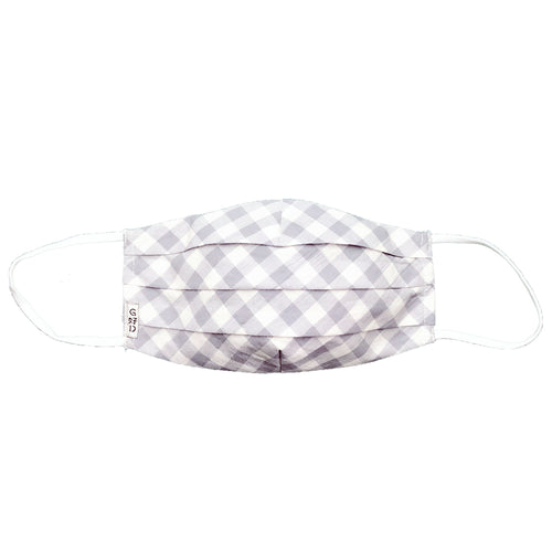 Checkers Grey Mask with Holder