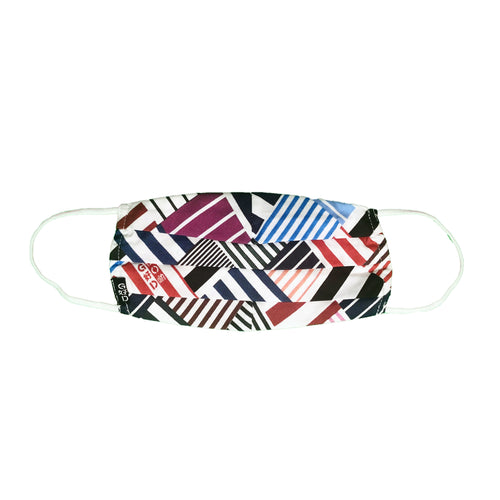 Squared Stripes Mask with Holder