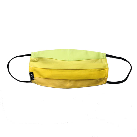 Pineapple White Cloth Mask with Holder