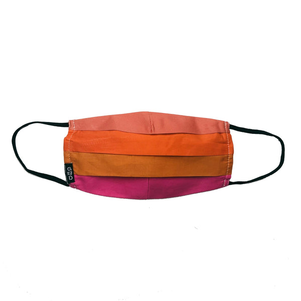 Combination Orange Mask with Holder