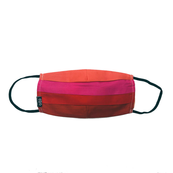Combination Red Mask with Holder