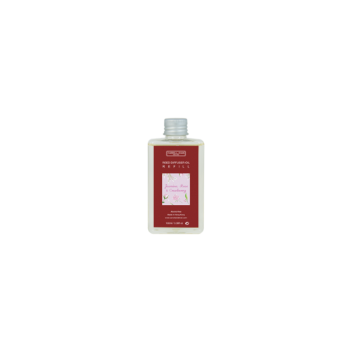 Jasmine, Rose & Cranberry 100ml Diffuser Oil Refill by Carroll&Chan