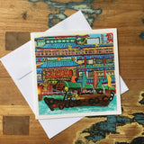 Jumbo Kingdom Greeting Card by Fabienne Veryepe