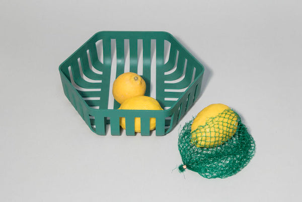 OMMO Korg Fruit Bowl / Bread Basket (dark green)
