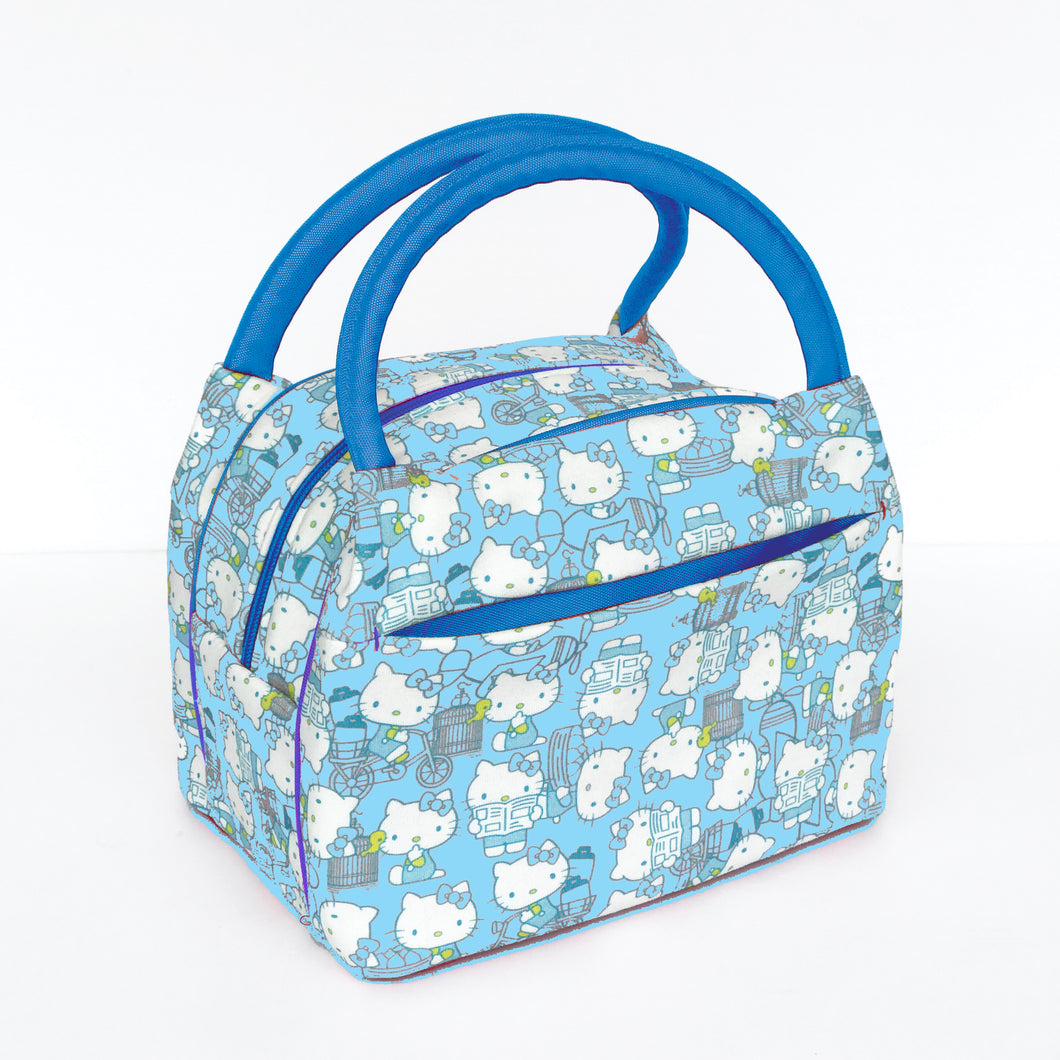 'Hello Kitty x G.O.D. Insulated Lunch Bag, Baby Blue
