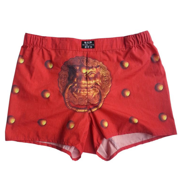 'Guardian Lion' men's boxer shorts
