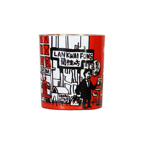 'Hong Kong Districts' soy jar candle (Lan Kwai Fong), Homeware, Goods of Desire, Goods of Desire