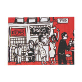 'Lan Kwai Fong' Greeting Card