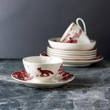 Load image into Gallery viewer, Loveramics 'A Curious Toile' 13.5cm cereal bowl