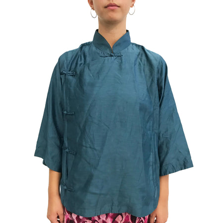 3/4 sleeves Mui Jai Top, Orange