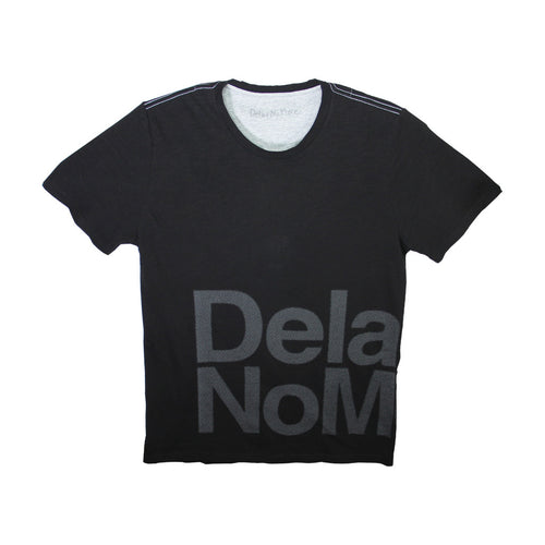 'Delay No More' large print tee
