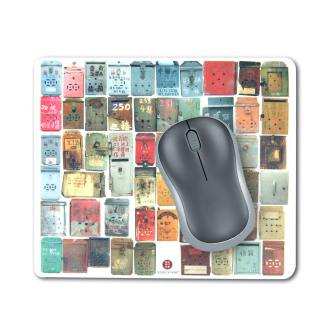 'Letterbox' mouse pad