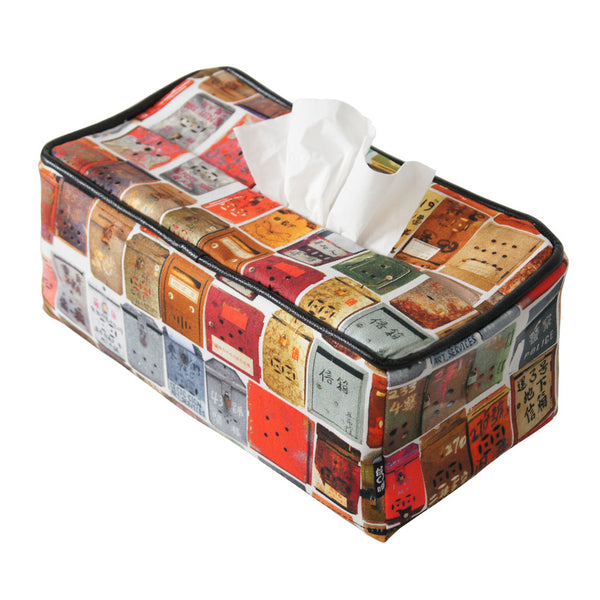Letterbox' tissue box cover