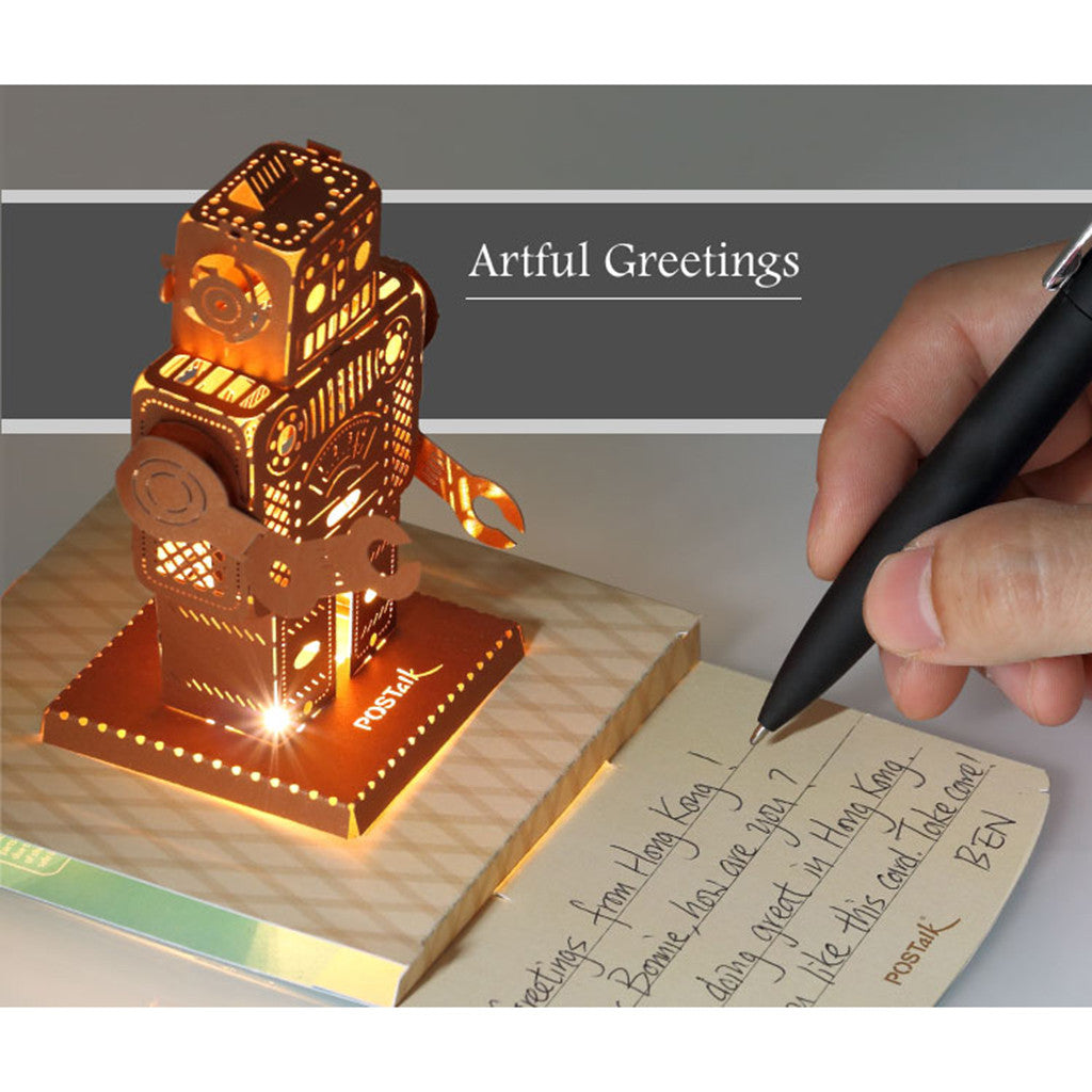 POSTALK LED Light POP card, Cantonese Opera