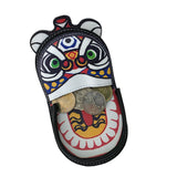 'Lion Dance' leather coin purse