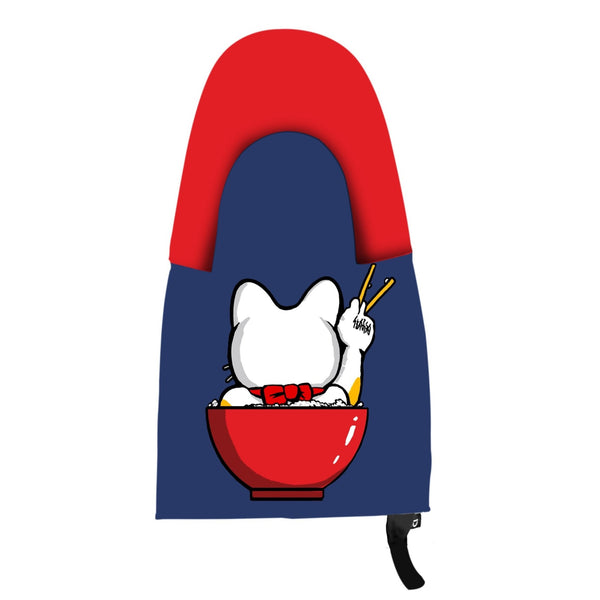 Lucky Cat Open Rice Oven Mitt