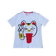 Load image into Gallery viewer, 'Lucky Cat Tongue' Kids T-shirt