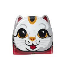 Load image into Gallery viewer, 'Lucky cat' leather coin purse, Bags, Goods of Desire, Goods of Desire