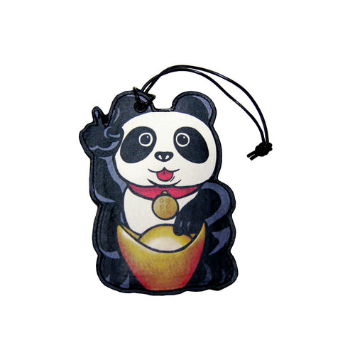 'Lucky Panda' luggage tag, Luggage & Travel, Goods of Desire, Goods of Desire